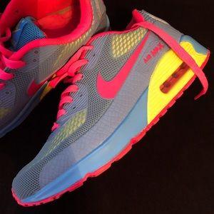 NEW!  Neon Nike Air Max Sneakers